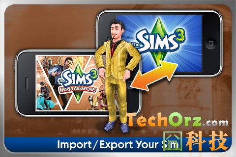iphone games the sims 3 world adventures. Black Bedroom Furniture Sets. Home Design Ideas