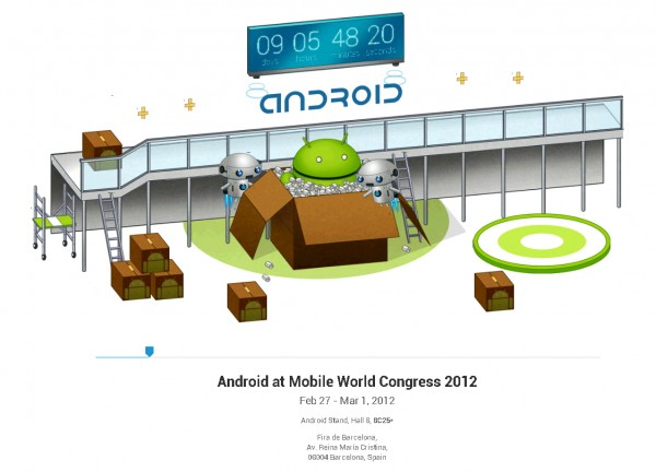 google-android-mwc-2012-count-down
