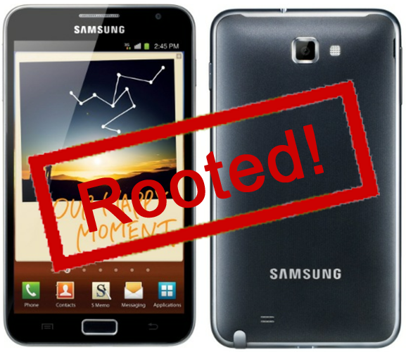 galaxy note 7000 root права