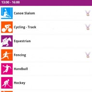 iphone android apps london olympic 2012 6 190x190 - 冇直播,點算好?倫敦奧運會 2012 官方 Android 及 iPhone 應用上線囉!