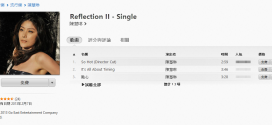 itunes hong kong kelly chan reflection ii single 272x125 - iTunes 新年 Day 5 免費送 陳慧琳《Reflection II》三首新歌