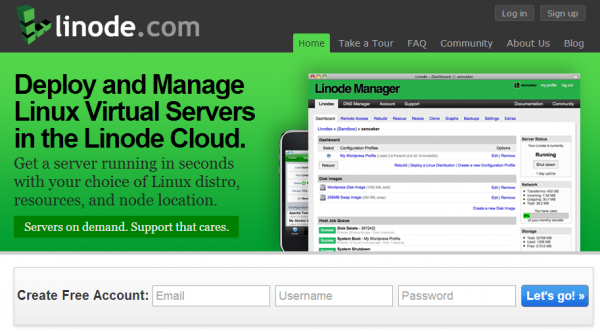 linode-free-trial-account