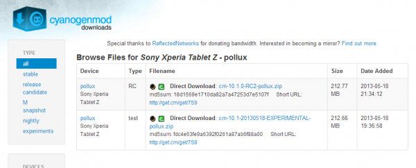 cyanogenmod-10-1-support-xperia-tablet-z-1