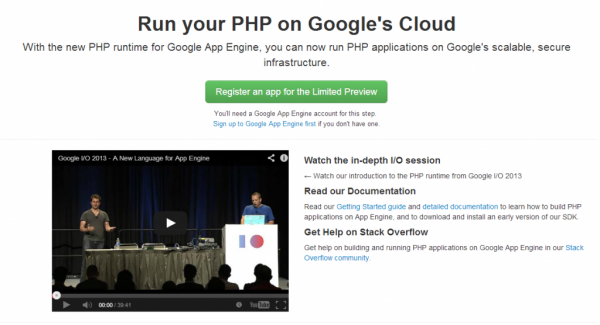 google-app-engine-support-php