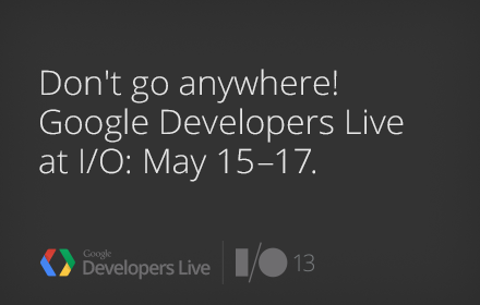 google-io-2013-developer-live-1