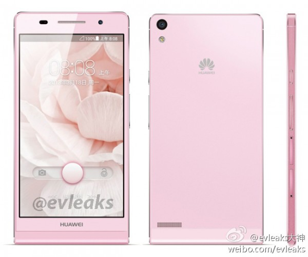 huawei-ascend-p6-pink