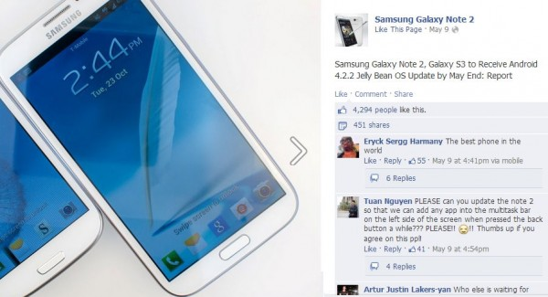 samsung-galaxy-note-ii-and-s-iii-recevied-android-4-2-2-by-end-of-may-1