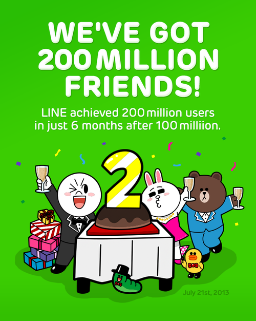 line-download-exceed-200-users-free-stickers