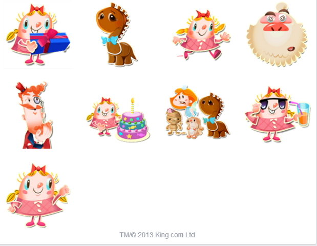 Facebook Messenger 手機即時通加入 Candy Crush 免費貼圖! Techorz 囧科技