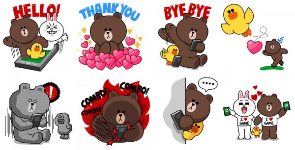 line-game-1st-anniversary-free-sticker-1