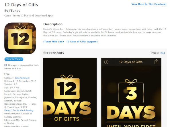 apple-release-12-days-of-gifts-2013