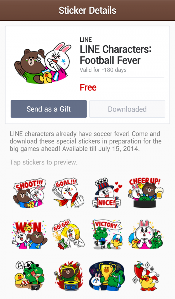 line-stickers-free-22-line-characters-football-fever-2
