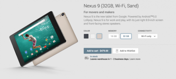 google-nexus-9-sand-edition-avaiable-at-play-store-now