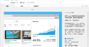 google chrome extensions data saver 310x165 - 加快瀏覽減流量,Google 推出桌面版 Chrome 擴展 Data Saver!