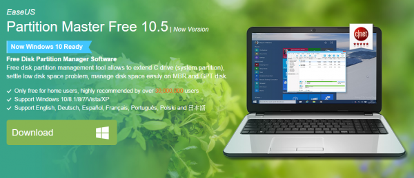 easeus-partition-master-free-10-5-now-support-windows-10