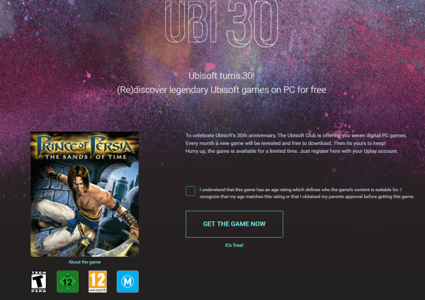 ubisoft-30-years-free-games-june-prince-of-persia-the-sands-of-time