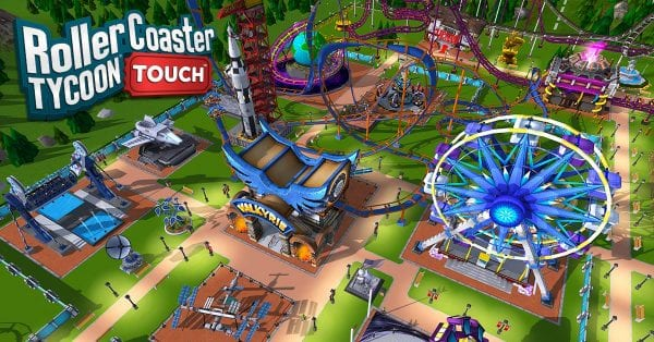 ios games rollercoaster tycoon touch released worldwide 1 600x314 - 做過山車大王!夢幻遊樂場《RollerCoaster Tycoon Touch》iOS 版全球可下載囉!