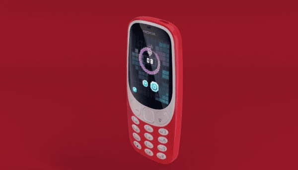 nokia 3310 announced in mwc 2017 1 600x344 - One More Thing!新 Nokia 3310 經典回歸!