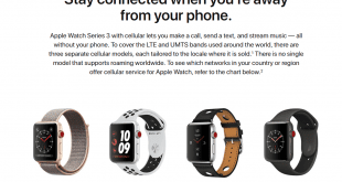 apple watch series 3 lte version may release soon 310x165 - Apple Watch Series 3 的 Cellular LTE 版本將在香港推出