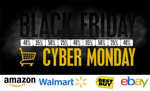 black friday 2017 600x366 - Black Friday 黑色星期五 2017 折扣優惠精選 (Amazon、Walmart、Best Buy 等)