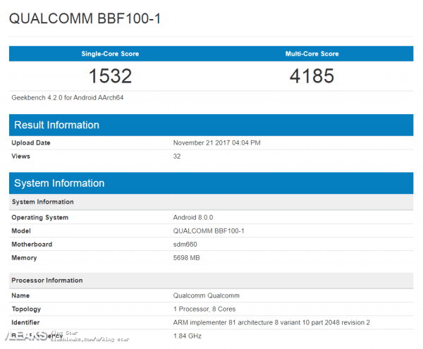 blackberry bbf100 leaked 2 600x495 - BlackBerry 全鍵盤新機 BBF100-1 將採用 S660 及 6GB RAM 規格