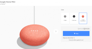google home mini discount 29 until 31 december 2017 310x165 - 智能家居 $220 有交易!Google Home Mini 限時特價 USD$29 至年尾!
